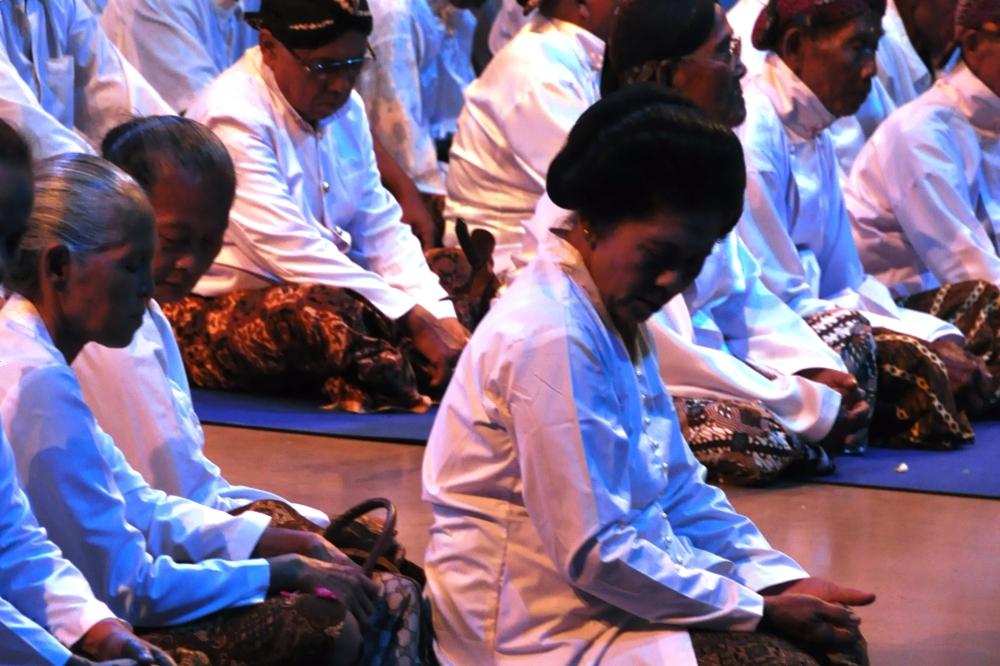 ceremonie avant ouverture les messages au Sinden