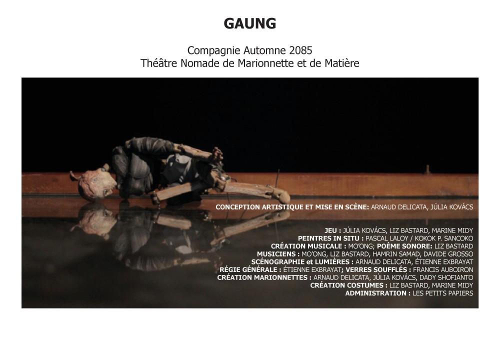 GAUNG- Cie Automne2085. 04.2016