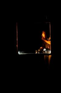 3 Davide creant sa palette sonore, enregistrant des elements du plateau.