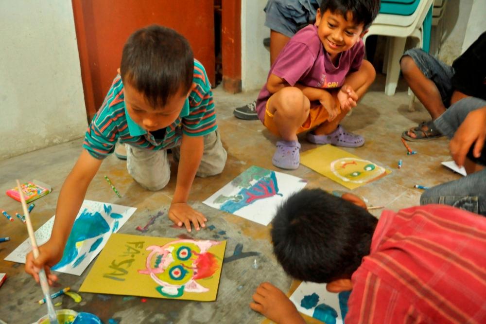 les enfants et leurs dessins