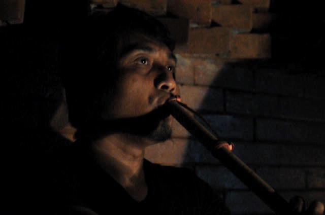 Hamrin Samad flute Suling. Gaung Omah sinten. Automne 2085
