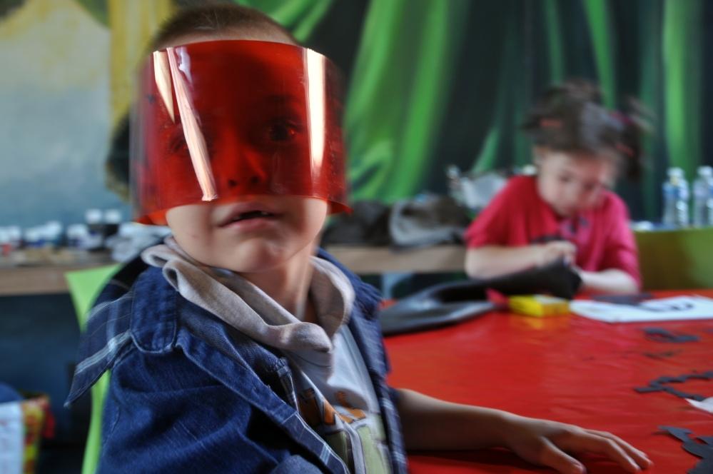 Arsene proposition Masque atelier TJP Theatre de Nuit