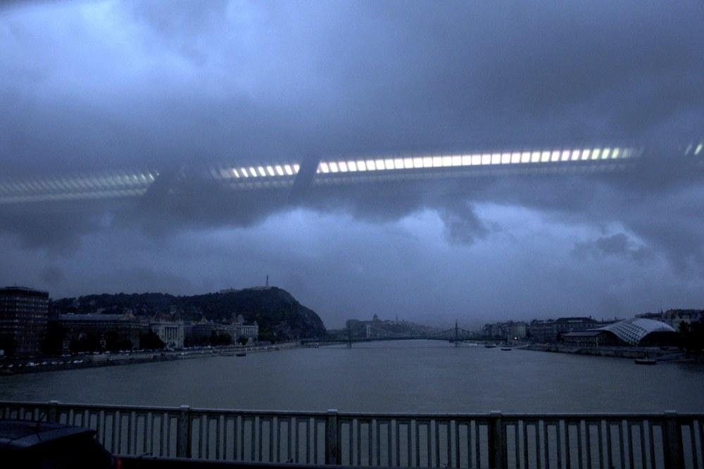 le danube deborde Budapest